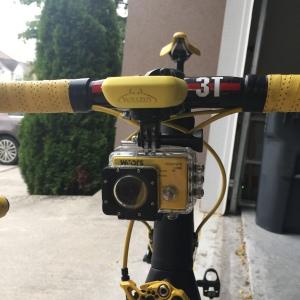 Setup on my bike.